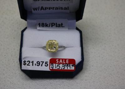 18K-Plat. Aprx 2.53CTW Sale $15,399