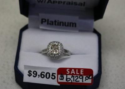 Platinum Aprx 1.63CTW Sale $6,729