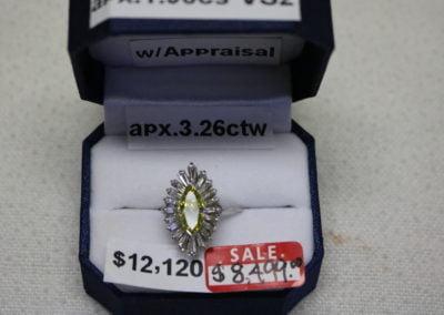 Platinum Aprx 3.26CTW Sale $8,499