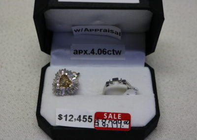 Platinum Ring-Pendant Aprx 4.06CTW Sale $8,799
